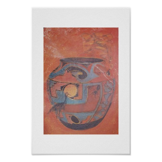 Zuni Soul Jar Poster