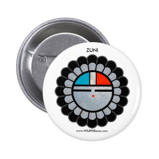 Zuni Sun Button