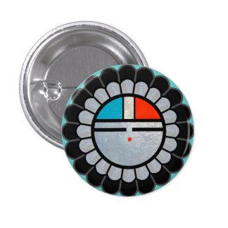 Zuni Sun Lapel Button