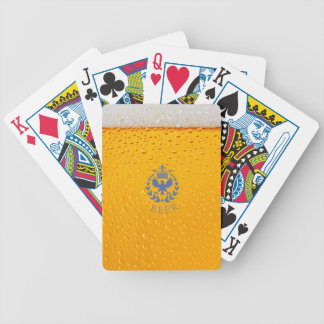 Zuno Beer Bicycle Poker Cards
