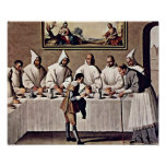 Zurbaran de Francisco - St Hugo of Grenoble Poster