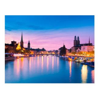 Zurich 003A Postcard