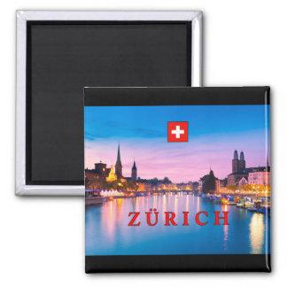 Zurich 003D Refrigerator Magnets