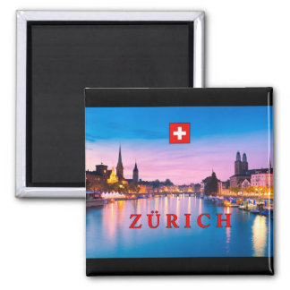 Zurich 003D Square Magnet