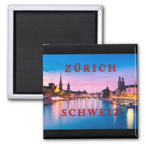 Zurich 003E Fridge Magnets