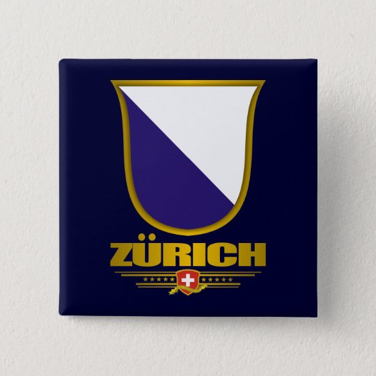 Zurich 15 Cm Square Badge