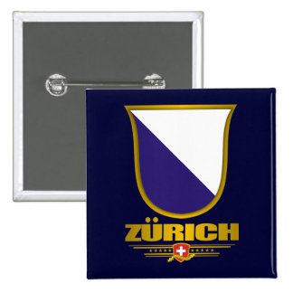 Zurich 15 Cm Square Badge