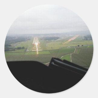 Zurich AIRPORT Round Sticker