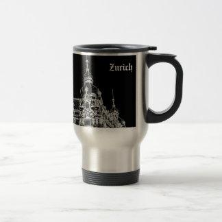 Zurich architecture travel mug