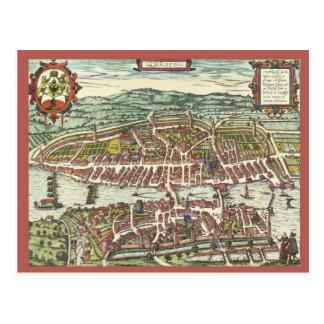 Zurich in the 16th century postcard