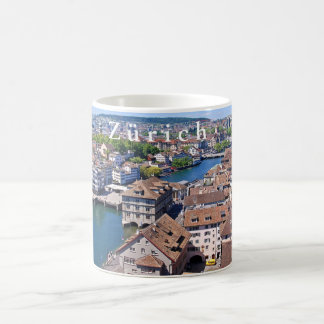Zurich. Panorama from the Grossmunster Tower. Coffee Mug