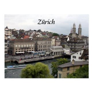 zürich postcard