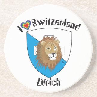 Zurich Switzerland beer cover Coasters