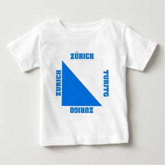 Zurich Switzerland Canton Flag Tee Shirt