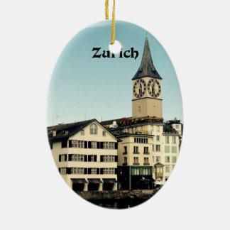 Zurich, Switzerland Christmas Ornament