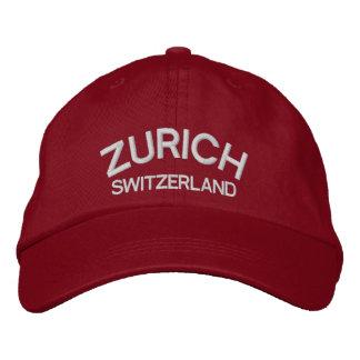 Zurich* Switzerland Classic Cap Embroidered Baseball Cap