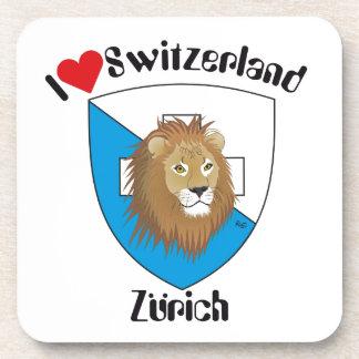 Zurich Switzerland cork reductor Beverage Coasters