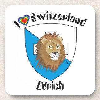Zurich Switzerland cork reductor Drink Coasters