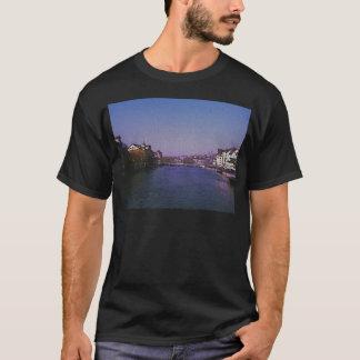Zurich Switzerland Digital art. T-Shirt