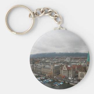 Zurich, Switzerland Key Ring