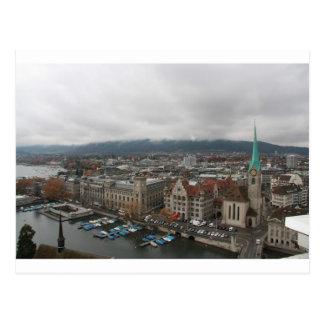 Zurich, Switzerland Postcard