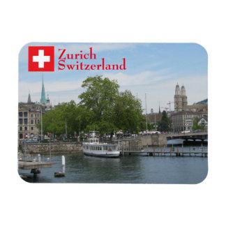 Zurich, Switzerland Rectangular Photo Magnet