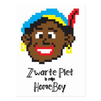 Zwarte Piet is mijn homeboy Postcard
