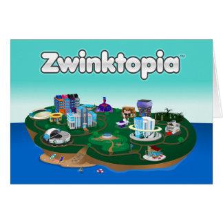 Zwinktopia Note Card