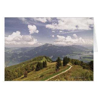 zwoelferhorn, wolfgangsee, salzburg,salzburger 2 card