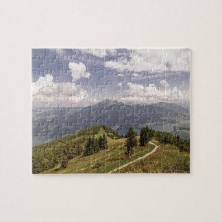 zwoelferhorn, wolfgangsee, salzburg,salzburger 2 jigsaw puzzle