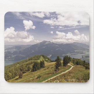 zwoelferhorn, wolfgangsee, salzburg,salzburger 2 mouse mat