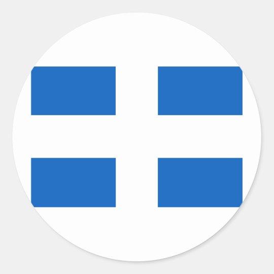 zwolle, Netherlands Classic Round Sticker