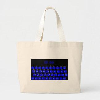 ZX80 Keyboard Canvas Bag