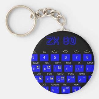 ZX80 Keyboard Key Chain