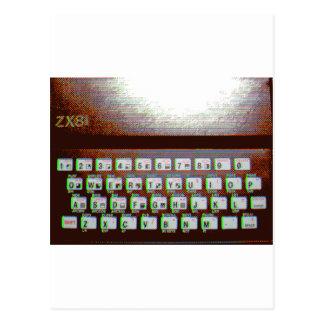 ZX81 POSTCARD