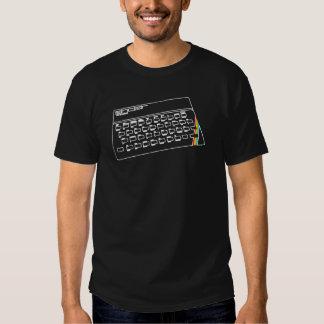 ZX Spectrum line art Tshirts