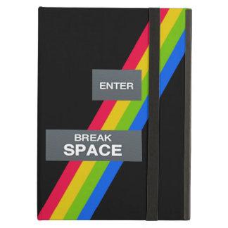 ZX Spectrum Retro Computing ipad Case. Cover For iPad Air
