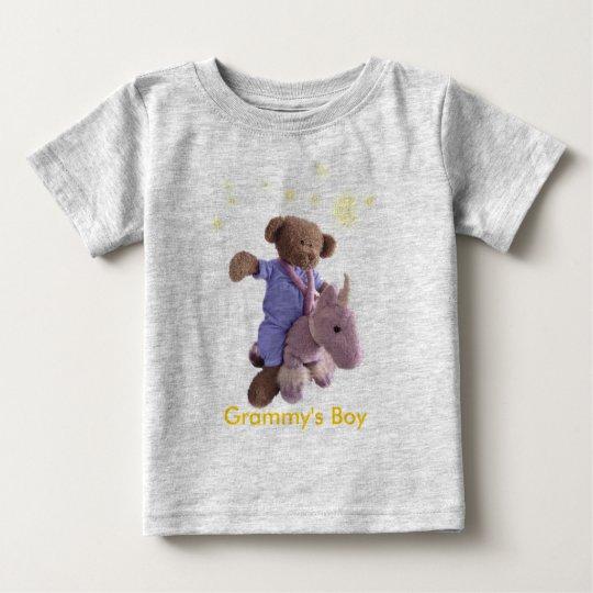 ZX_unicorn-bear-stars Baby T-Shirt
