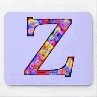Zz Illuminated Monogram Mouse Pad
