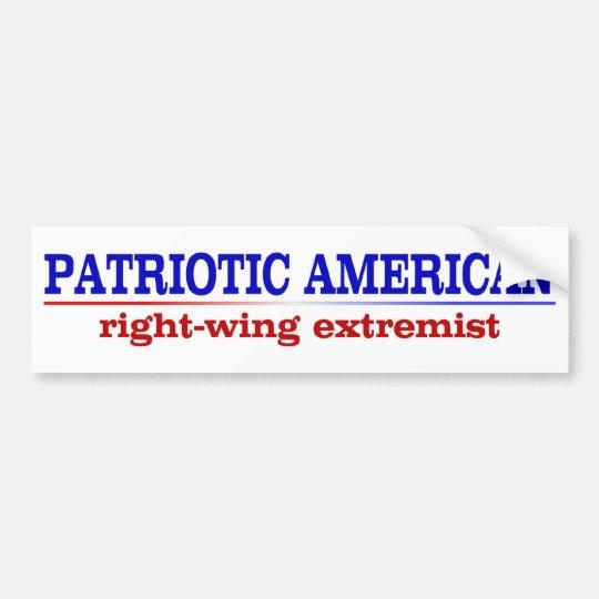 zz_patrioticamerican2 bumper sticker