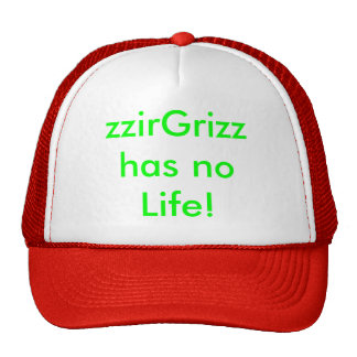 zzirGrizz Mesh Hat